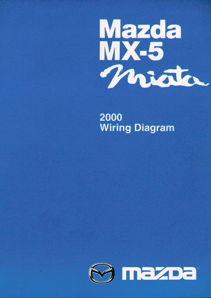 2000 Mazda Mx5 Miata Wiring Diagram Pdf  7 69 Mb