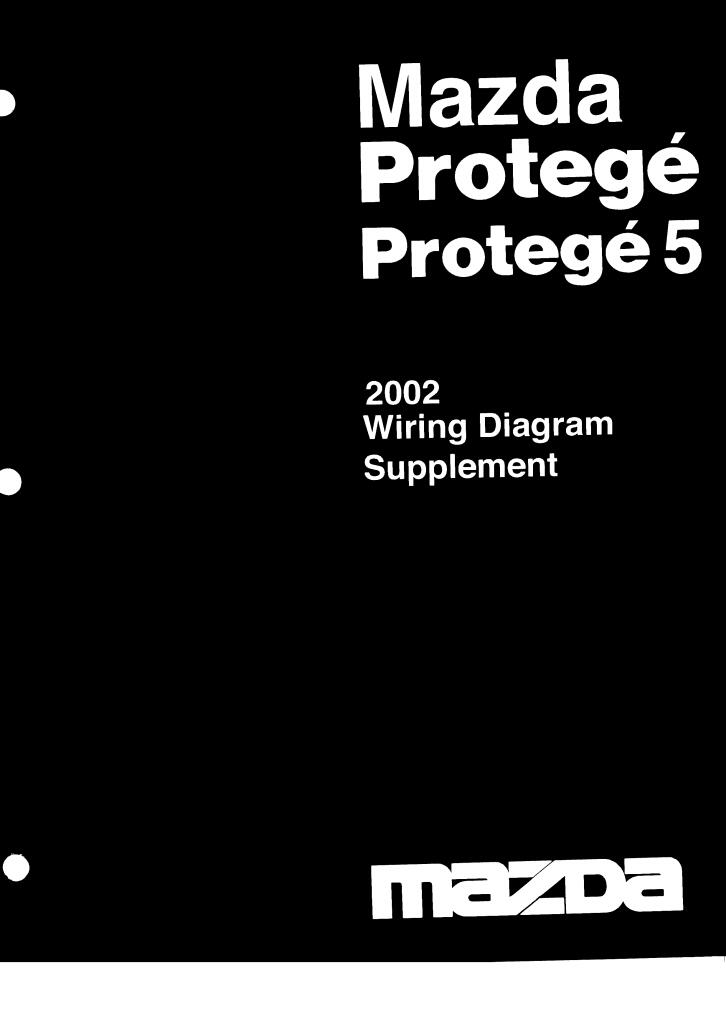 2002 Protage 5 Wiring Diagram Supplement Pdf  6 97 Mb